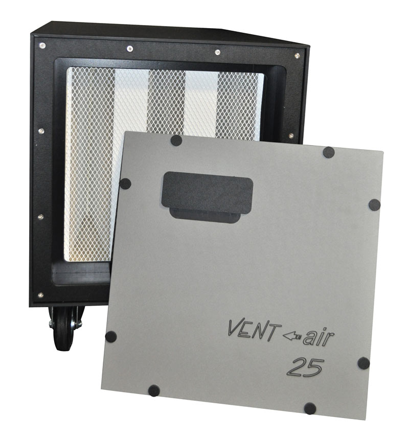 side panels of ventaire t25/50 negative pressure units